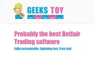 GeeksToy: software de trading para a Betfair
