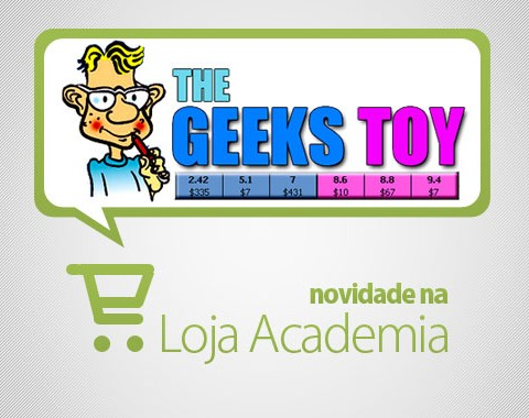 Licença de 3 meses Geeks Toy na loja Academia