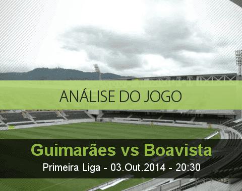 Análise do jogo: Vitória de Guimarães vs Boavista (3 Outubro 2014)