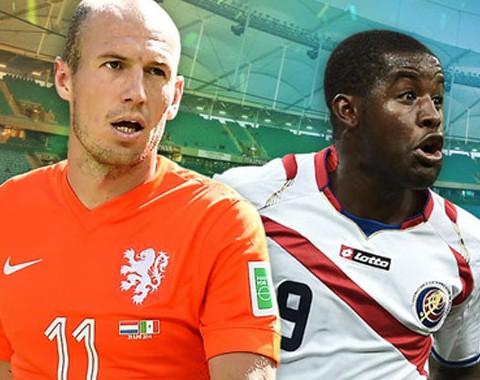 Holanda vs Costa Rica: preview análise do jogo