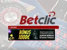 Bónus até 1.000€ no Casino Betclic
