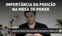 Importância da posição na mesa de Poker – aula 6