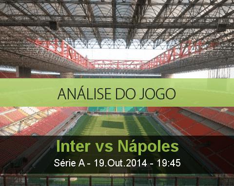 Análise do jogo: Inter de Milão vs Nápoles (19 Outubro 2014)