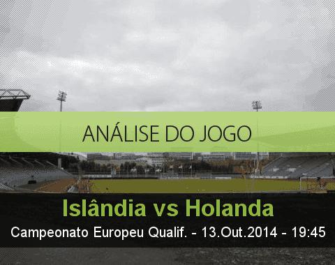 Análise do jogo: Islândia vs Holanda (13 Outubro 2014)