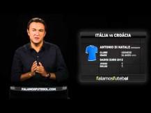 Itália v Croácia por Luís Freitas Lobo