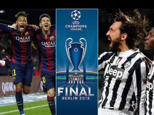Juventus vs Barcelona - Final da Liga dos Campeões - Oferta Ao-Vivo