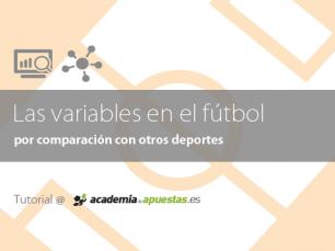 Las variables en el fútbol por comparación con otros deportes