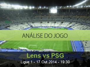 Análise do jogo: Lens vs PSG (17 Outubro 2014)