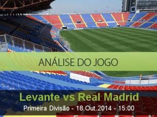 Análise do jogo: Levante vs Real Madrid (18 Outubro 2014)