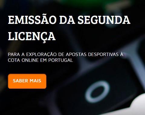 Segunda licença de jogo online em Portugal emitida pelo SRIJ