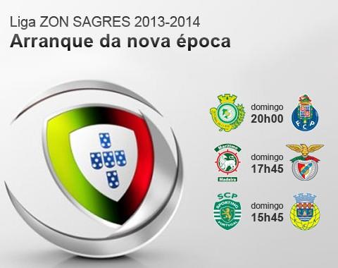 Porto e Benfica começam fora de casa