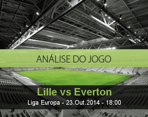 Análise do jogo: Lille vs Everton  (23 Outubro 2014)