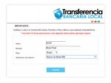 Como depositar por transferência bancária local (Lobanet)