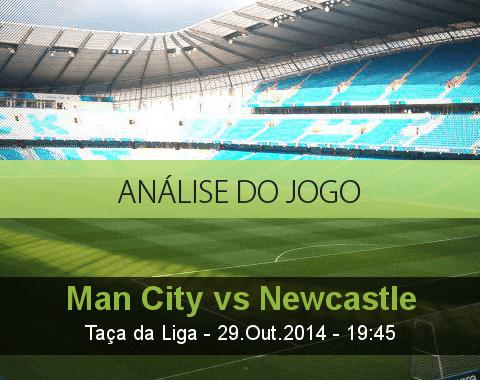 Análise do jogo: Manchester City vs Newcastle (29 Outubro 2014)