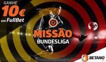 Apostas grátis com a Missão Bundesliga