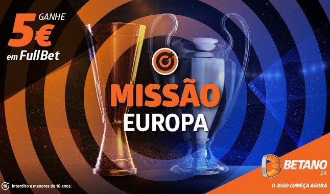 Aposta grátis para a Liga dos Campeões e Liga Europa