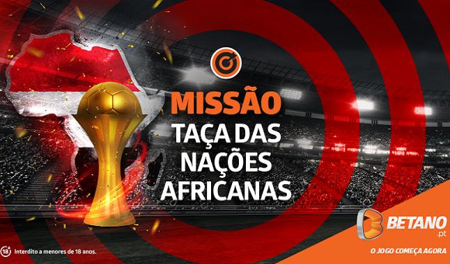 Taça das Nações Africanas - 10€ grátis para apostar