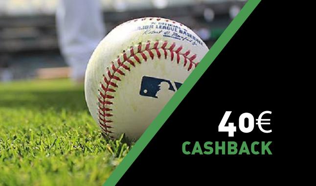 Recebe 40€ em Beisebol