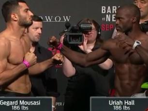 Gegard Mousasi x Uriah Hall (UFC – 19 de Novembro de 2016)