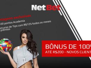 Netbet - vantagens exclusivas e bônus de boas vindas