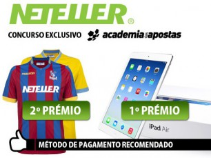 Concurso Neteller: iPad Air e camisa oficial Crystal Palace