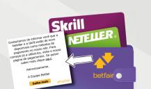 Betfair com neteller e skrill para usuários brasileiros