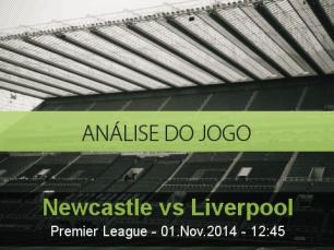 Análise do jogo: Newcastle United vs Liverpool (1 Novembro 2014)