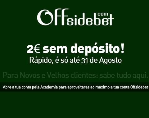 Saldo gratuito Offsidebet