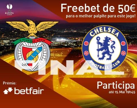 Passatempo: qual o resultado do jogo Benfica vs Chelsea?