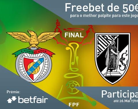 Passatempo: qual o resultado do jogo Benfica vs Vitória Guimarães?