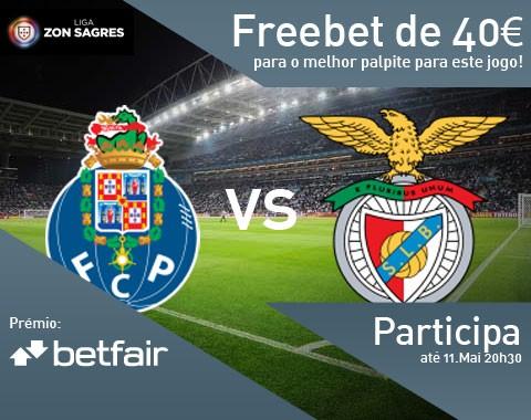 Passatempo: qual o resultado do jogo Porto vs Benfica?