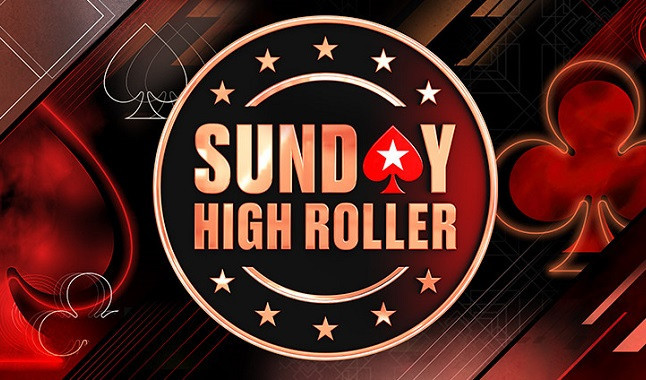 Pódio do Sunday High Roller