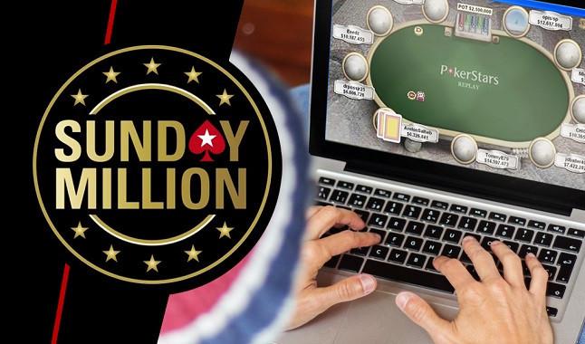 Pódio do US$ 109 Sunday Million da PokerStars