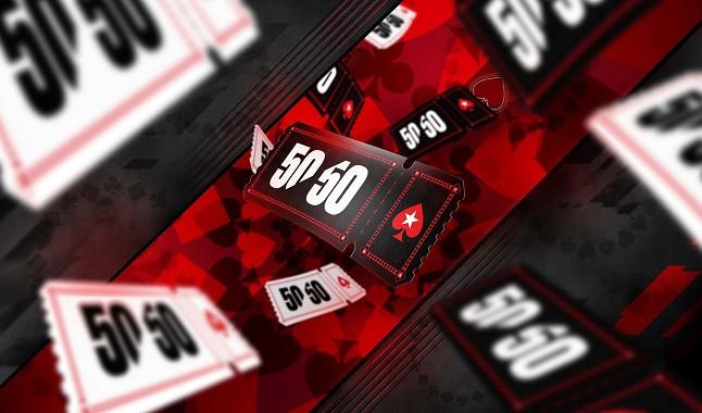 PokerStars: 50/50 distribuirá más de $ 6 millones