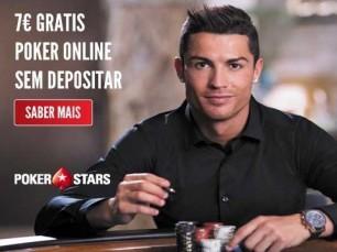 €7 grátis na PokerStars sem depósito ou requisitos