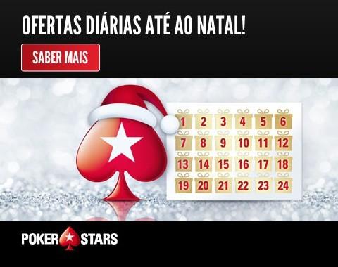Surpresas diárias da Pokerstars até ao Natal