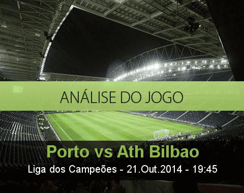Análise do jogo: Porto vs Athletic Bilbao  (21 Outubro 2014)