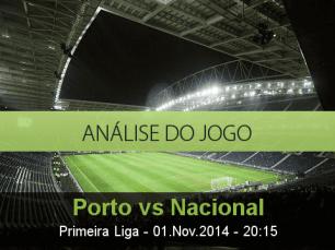 Análise do jogo: Porto vs Nacional da Madeira (1 Novembro 2014)