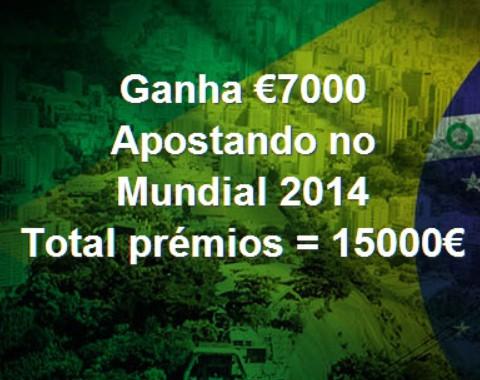 Combate de Titãs no Mundial 2014 e 15 mil euros em prémios