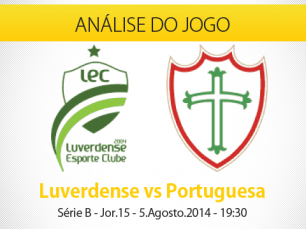 Prongóstico: Luverdense X Portuguesa (Campeonato Brasileiro Série B) 5.Ago.2014