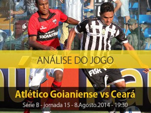 Análise do jogo: Atlético Goianiense X Ceará (8.Agosto.2014)
