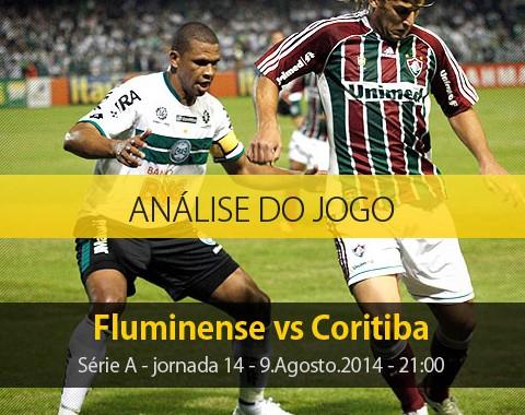 Análise do jogo: Fluminense X Coritiba (9 Agosto 2014)