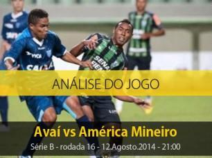 Análise do jogo: Avaí X América Mineiro (12 Agosto 2014)