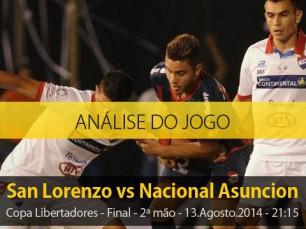 Análise do jogo: San Lorenzo X Nacional (13 Agosto 2014)
