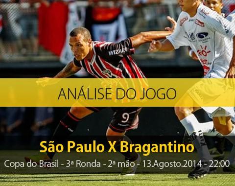 Análise do jogo: São Paulo X Bragantino (13 Agosto 2014)