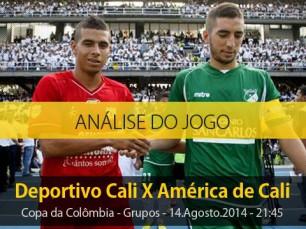 Análise do jogo: Deportivo Cali X América de Cali (14 Agosto 2014)