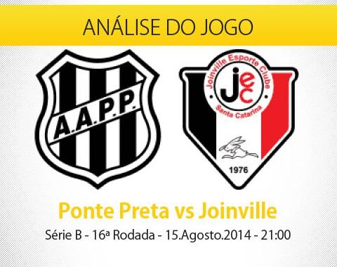 Análise do jogo: Ponte Preta X Joinville (15 Agosto 2014)