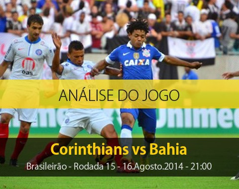 Análise do jogo: Corinthians X Bahia (16 Agosto 2014)