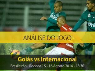 Análise do jogo: Goiás X Internacional (16 Agosto 2014)