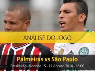 Análise do jogo: Palmeiras X São Paulo (17 Agosto 2014)